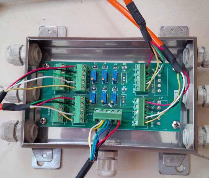 Lắp đặt đầu cân DS1M với Loadcell số