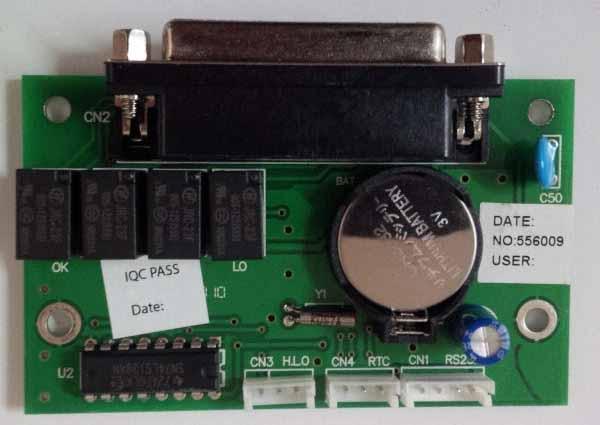 Bộ xuấti tín hiệu RS232-Relay cho cân điện tử