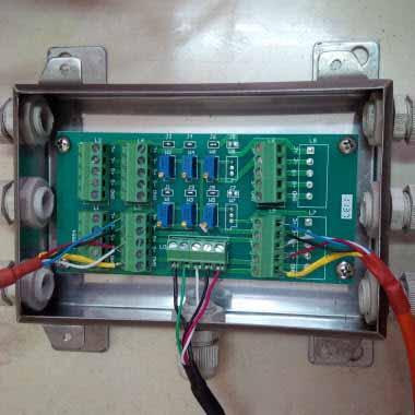 Lắp đặt Đầu cân MK-Di01 (D2008H) với Loadcell số MK-LU-D