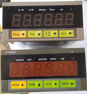 Bảo trì hệ thống cân bồn sử dụng đầu cân PT650D