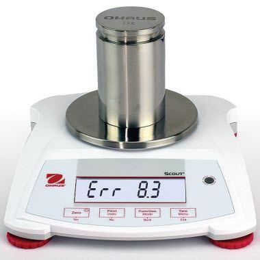 Cân điện tử hiển thị sai trọng lượng